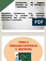 Angulo Central e Inscrito