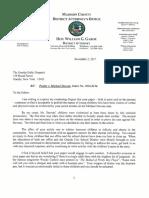 ADA Mascari Letter to ODD