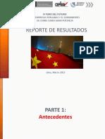 PERÚ CHINA 06-11-17