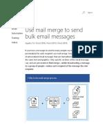 Mail Merge