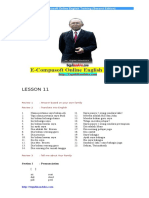 Lesson 11
