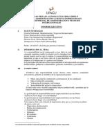 Informe Ejecutivo Ponente 1