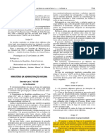 DL 457/99 Uso de Arma de Fogo Policial