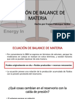 Tema 7 Ecuación de Balance de Materia