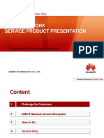 GSM-R Network Service Product Presentation