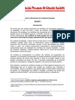 Negociacion y Resolucion de Conflictos Sociales