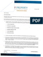 Gap Property Universal Credit Letter