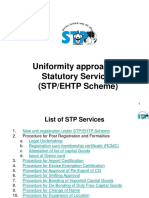 Standardized Stp Ehtp Services