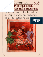 Duvernoy, Jean - La Captura Del Cataro Belibaste [36512] (r1 1)