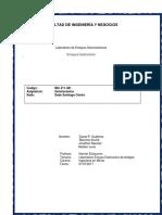 Geomecanica Informe