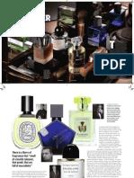 Masculine Fragrances Whiff of Danger