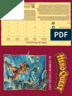 3-Aventuras Hero Quest- El Barbaro-español