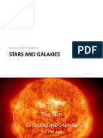 Science F3 Chapter 9-Stars and Galaxies-Part 1-PPT
