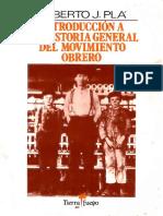 CEAL PLA Introduccion a La Historia General Del Movimiento Obrero
