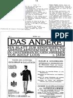 85.- Lo otro. Una revista para la introducción de la cultura occidental en Austria, escrita por Adolf Loos IV