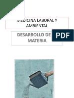 Medicina Laboral y Ambiental Power Point
