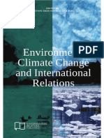 Environment Climate Change and International Relations E IR