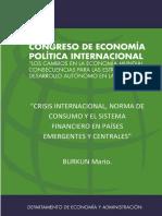 congreso de la economia politica internacional BURKUN