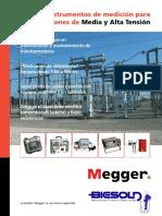 logo Equipos Megger Energia ia