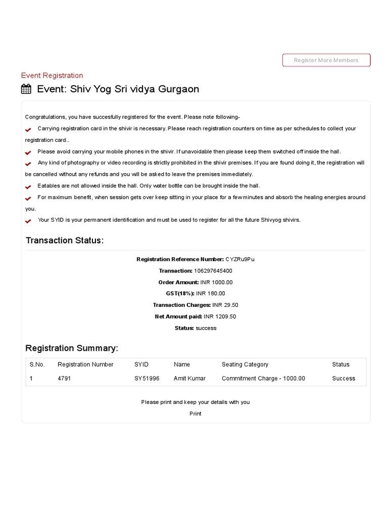 Shivyog Event Registration pdf