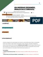 101 Filmes Para Inspirar (Designers, Criativos, Jornalistas e Curiosos) _ Tutano