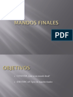 Mandos Finales