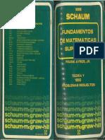 Fundamentos de Matematicas Superiores Shaum