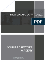 Filmic Vocabulary