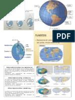 Los Mapas Son Representaciones Geográficas de Una Porción Terrestre o de La Tierra Completa