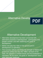 Alternative Development