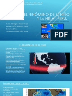 El Fenómero de El Niño y La Niña