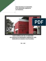 Plan Curricular 2017 - MHO Posgrado FIA