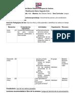 Escuela Básica Obdulia Rodríguez de Jiménez Planificacion