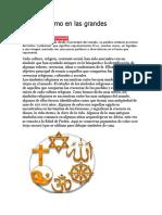 El Simbolismo en Las Grandes Religiones