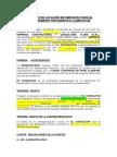 Modelo Contrato Locacion Servicios PROYECTISTA