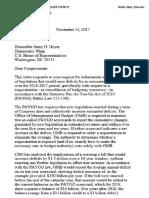 CBO Medicare Tax Letter