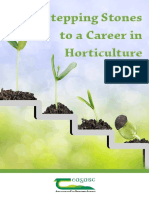 Stepping Stones to a Career in Horticulture