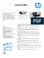 HP LaserJet Pro M477fdw All-in-One Colour Printer