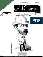 Madrid Cómico. 5-9-1885