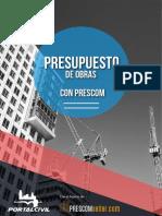 Brochure Presupuestos de Obra PRESCOM