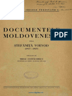 Documentele Mold Dela Stefanita Voda