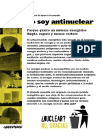 Manifiesto Antinuclear