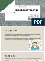 Enfoque Del Rea Matemtica