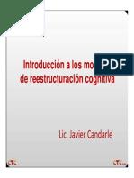 Diapositiva Clase 1 (Clase 1Breve Reseña de los orígenes y fuentes del movimiento cognitivo en Psicoterapia. La primera revolución cognitiva. El corazón conceptual de la TC)