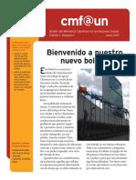 Cmf@Un Newsletter - Vol.1 Issue1 - June2013 - Spanish