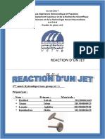 Reaction d'Un Jet