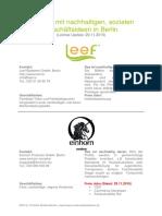 Berlin Sustainable Startups