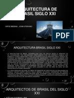 Arquitectura de Brasil Siglo Xxi