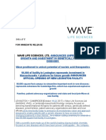 Wave Life Sciences Release V2-cs.doc