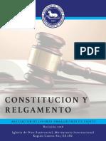 AJEC Región Centro Sur | Constitución y Reglamento